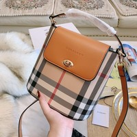 BURBERRY Women Shopping Bag Leather Shoulder Bag Crossbody Satchel
