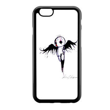emo angel Art iPhone 6 Case
