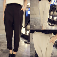 Womens Retro Show Thin Pants Summer Gift 78