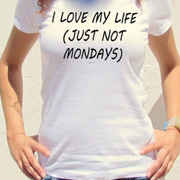 I love My Life Unisex Tshirt Urban Fashion American Apparel