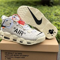 Air More Uptempo x Off-White Shoes 36-46