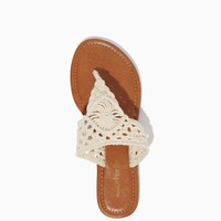 Iris Crocheted Sandals | Shoes | charming charlie