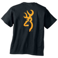 Browning Men's Gold Buckmark Short Sleeve T-Shirt