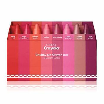 Clinique Clinique Crayola™ Chubby Stick™ in Crayon Box in 8 Brilliant Colors
