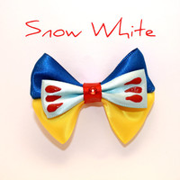 Mini Snow White Hair Bow