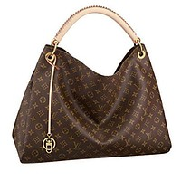 Tagre™ One-nice™ Louis Vuitton Monogram Canvas Artsy MM Handbag Article:M40249 Made in France Louis Vuitton Bag