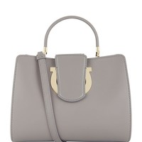 Salvatore Ferragamo Thea Top Handle Bag | Harrods.com