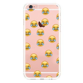 LMFIH3 New fashion iphone6s cute expression phone case protective cover