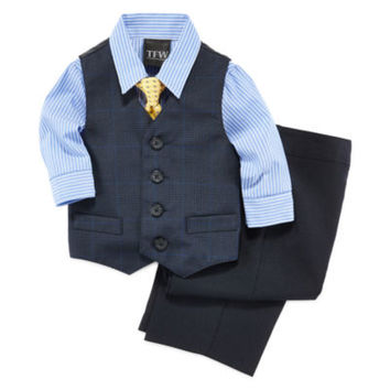 Shirt, Vest, Tie and Pants - Baby Boys 3m-24m - JCPenney
