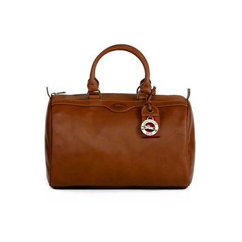 Longchamp Cognac Au Sultan Small Duffel | Overstock.com Shopping - The Best Deals on Designer Handbags