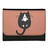 Cute Kitties Leather Wallet For Women