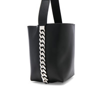Givenchy Infinity Smooth Bucket Bag in Black | FWRD