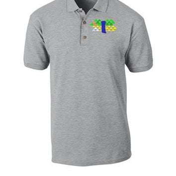 BLUE SILDE PARK MAC MILLER Embroidery - Polo Shirt