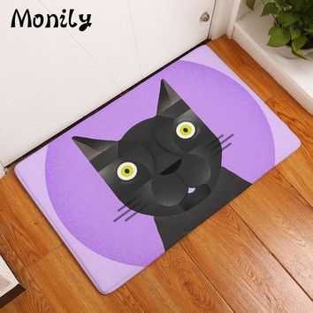 Autumn Fall welcome door mat doormat Monily Waterproof Anti-Slip  Cartoon Animals Dinosaur Carpets Zebra Bedroom Rugs Decorative Stair Mats Home Decor Crafts AT_76_7