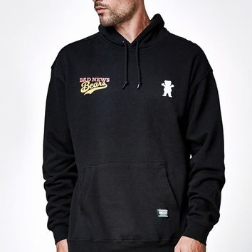 Grizzly - Bad News Bears Getaway Hoodie - Mens Hoodie - Black