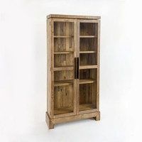Emmerson® Reclaimed Wood Display Cabinet