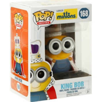 Funko Minions Pop! Movies King Bob Vinyl Figure