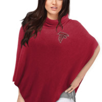 Atlanta Falcons Crystal Knit Poncho