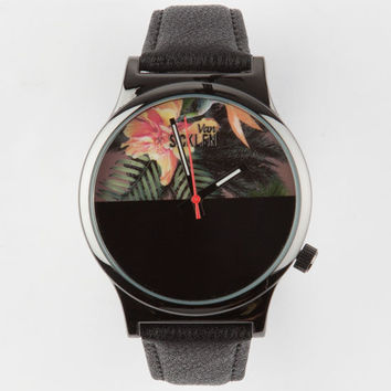 Van Sicklen Hawaiian Face Watch Black One Size For Men 25192710001