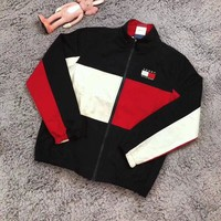 """Tommy Hilfiger"" Women Zip Jacket Coat"
