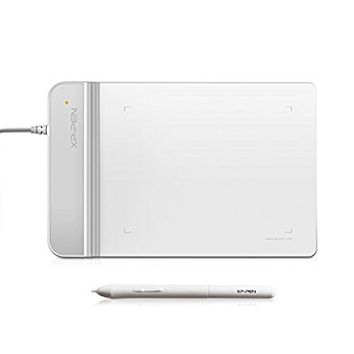 XP-Pen G430 OSU Tablet Ultrathin Graphic Tablet 4 x 3 inch Digital Tablet Drawing Pen Tablet for osu! (White)