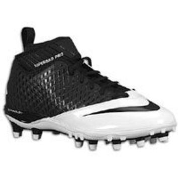 DCCK8BW Nike Lunar Super Bad Pro TD Men's Molded Football Cleats (11.5 Black/Black-White)