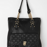 Urban Outfitters - Kimchi Blue Quilted Chain Tote Bag