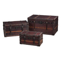 Sterling Travellers Steam Trunks Storage Chests