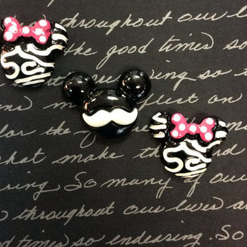 Mickey & Minnie Magnet Set, Disney Inspired Magnets, DCL, Fish Extended Gift, Mickey Mouse Birthday Favors, Disney Cruise Magnets