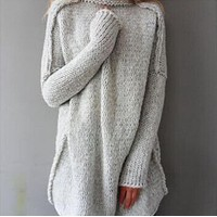 Large size female sweater sweater One-nice™