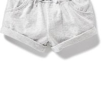Roll Up Knit Shorts