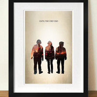 "Harry Potter: The Trio - ""Until the Very End"" Digital Art 11x17 Poster Print"