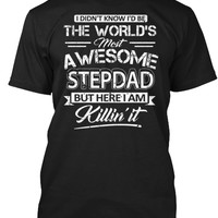 World's Most Awesome Stepdad Shirt