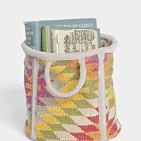 Magical Thinking Kilim Round Storage Bin - Urban Outfitters