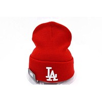Perfect LA Women Men Embroidery Beanies Winter Knit Hat Cap