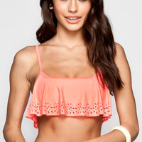 Roxy Free Spirit Bikini Top Coral  In Sizes