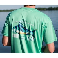 FieldTec Roosterfish Pocket Tee - Short Sleeve in Bimini Green by Southern Marsh