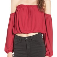Lush Off the Shoulder Blouse | Nordstrom