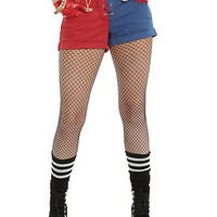 DC Comics Suicide Squad Harley Quinn Lace-Up Split Shorts Pre-Order