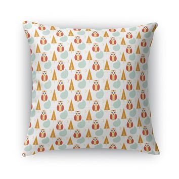 NIGHT OWL Accent Pillow By Heidi Miller