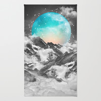 It Seemed To Chase the Darkness Away (Guardian Moon) Rug by Soaring Anchor Designs