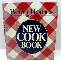 Cookbook Better Homes And Garden Cook Book Red White Check Hardcover 1981 Meredith Corp 3 Ring Binder Test Kitchen Approved