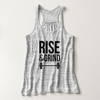 Rise And Grind | Women's Fitness Tank Top