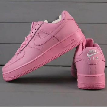 Nike Air Force 1 Jade AF1 Women Men Running Sport Casual Shoes Sneakers Air force pink