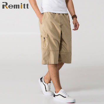 Men Military Tactical Cargo Shorts  Casual Capris Plus Size XXXL 4XL 5XL 6XL
