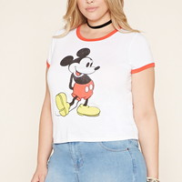 Plus Size Mickey Ringer Tee