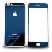 MIRRORED IPHONE PROTECTOR BLUE