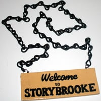 Welcome to Storybrooke necklace