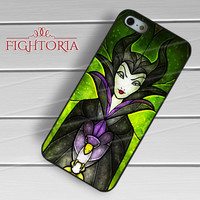 stained glass villain maleficent-yah for iPhone 4/4S/5/5S/5C/6/ 6+,samsung S3/S4/S5,S6 Regular,S6 edge,samsung note 3/4