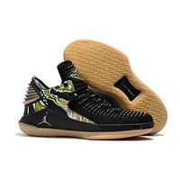 Nike Air Jordan 32 XXXII Retro Low Black-Raw Sneaker